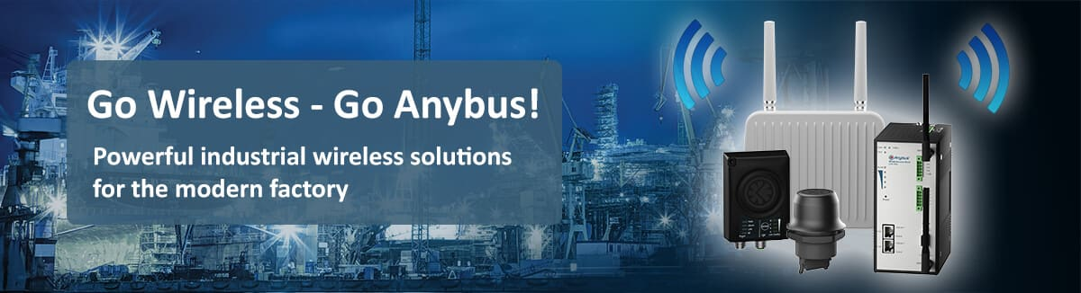 Industrial wireless solutions - anybus