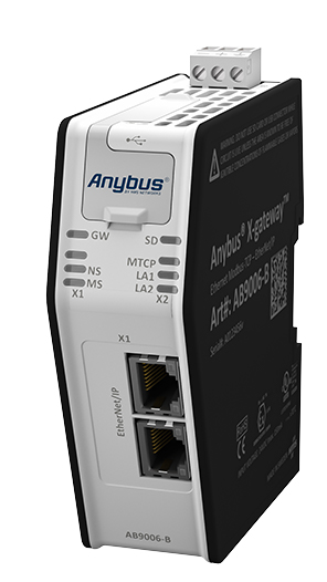 Anybus X-gateway - Modbus TCP Client - EtherNet/IP Adapter