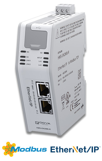 EtherNet/IP to Modbus TCP Linking Device