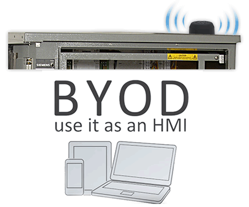 Eliminate HMI's and Bring your own device (BYOD)