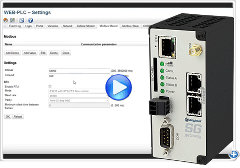 How to configure an Anybus SG-gateway
